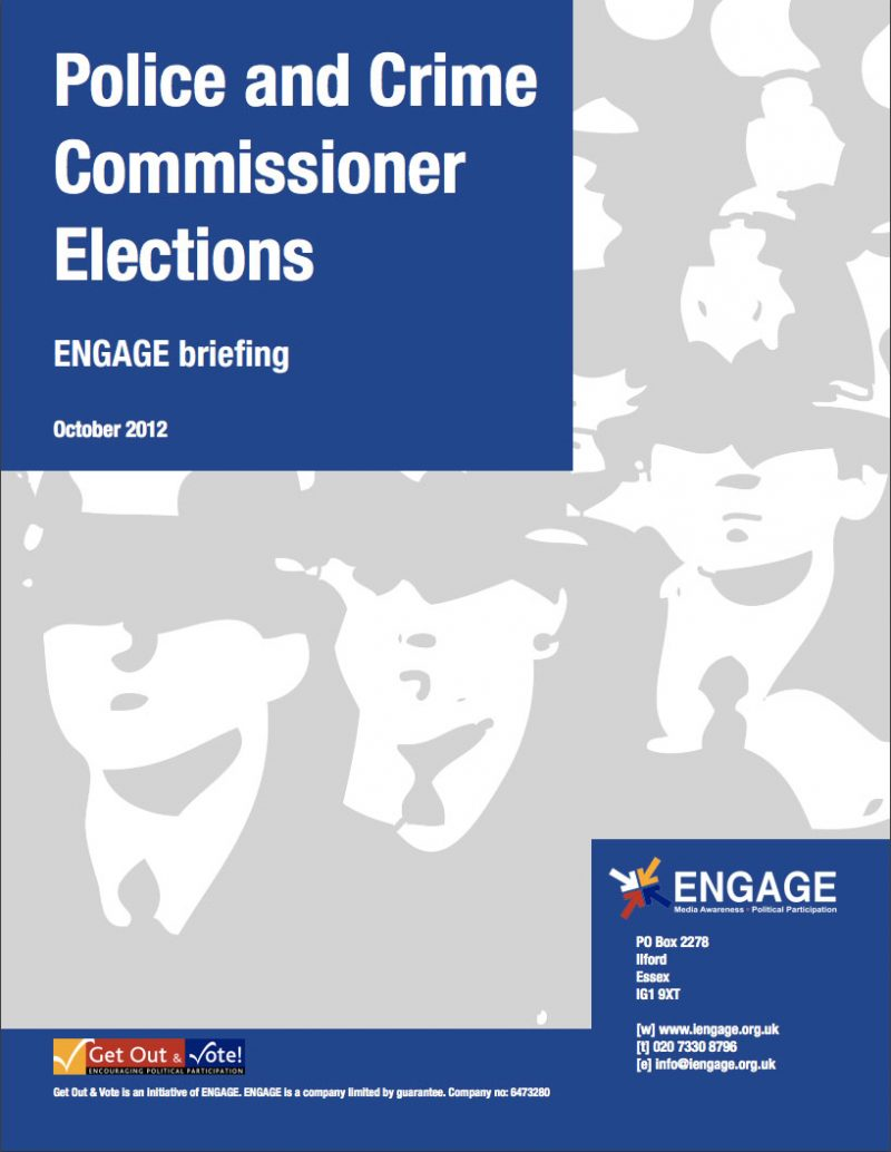 Police and Crime Commissioner Elections (2012)
