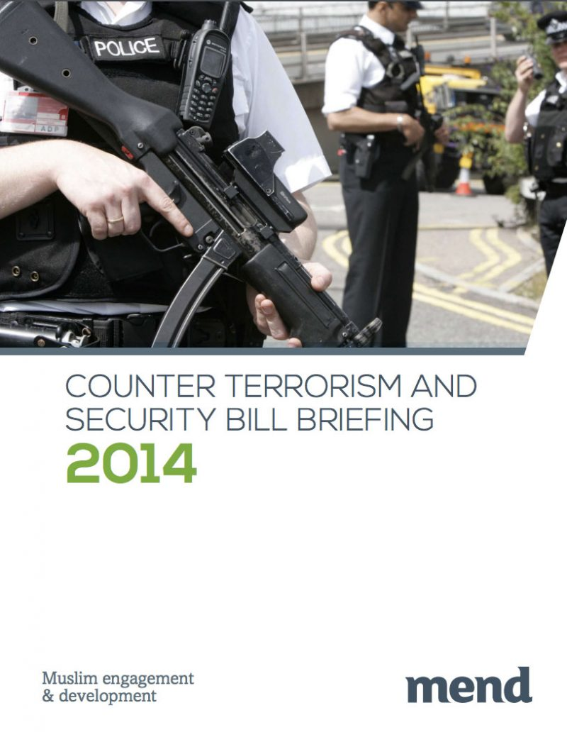 Counter-terrorism & Security Bill (2014)