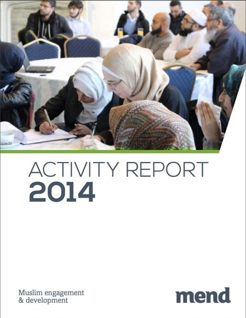 MEND Activity Report (2014)