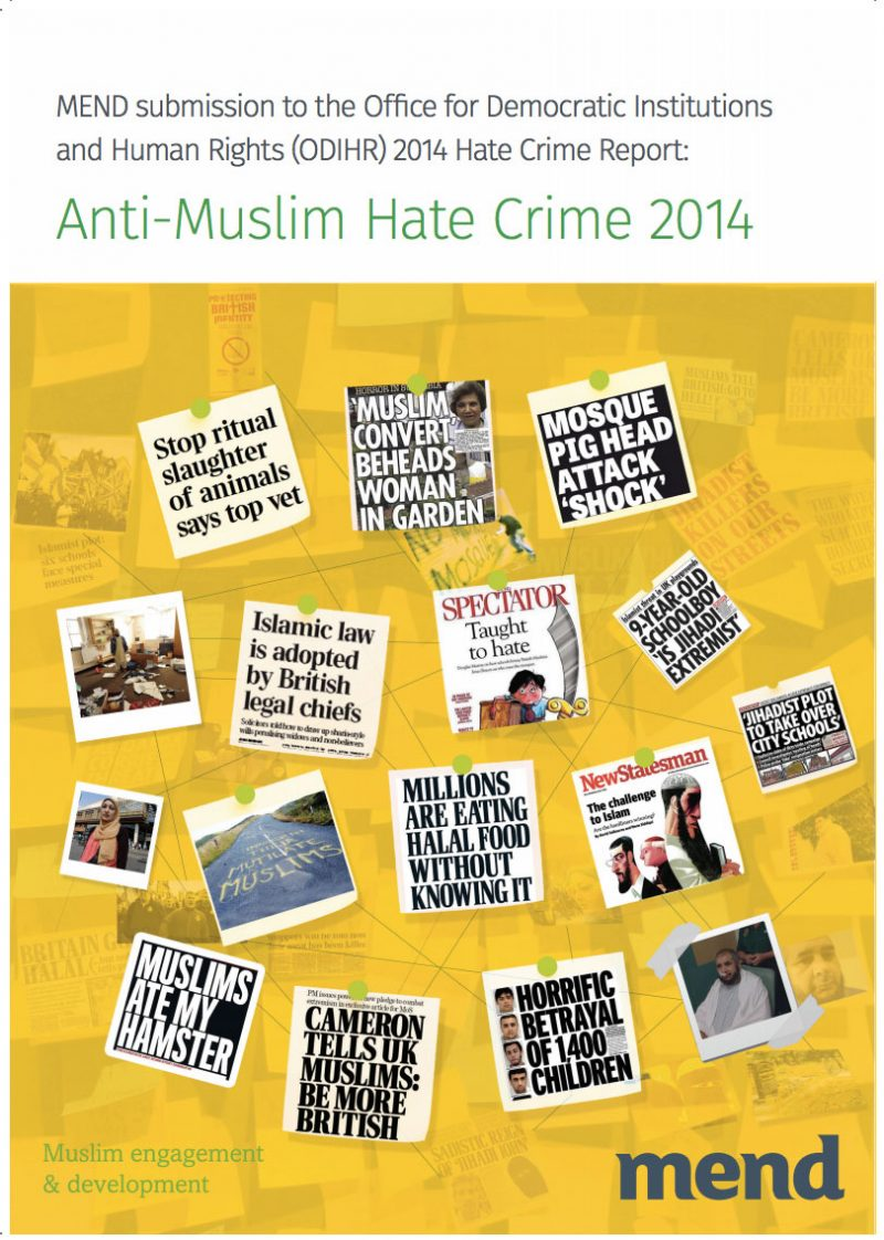 Anti-Muslim Hate Crime 2014