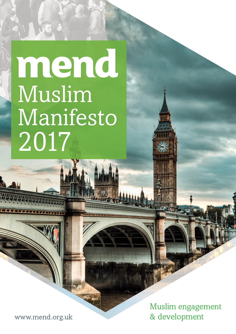 MEND Muslim Manifesto (General Election 2017)