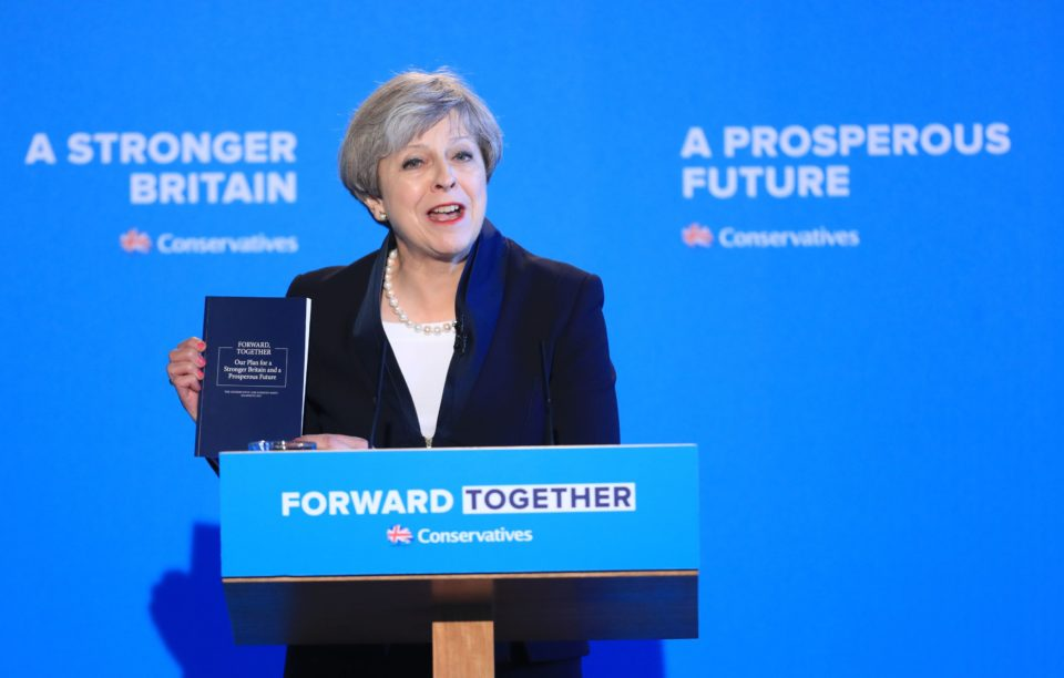 Tory manifesto lacks definition of 'extremism'