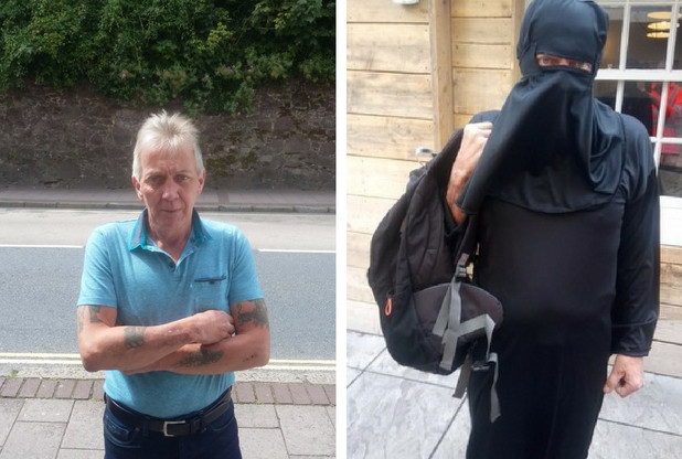 Meet the man on a mission to ban the burqa … by wearing it