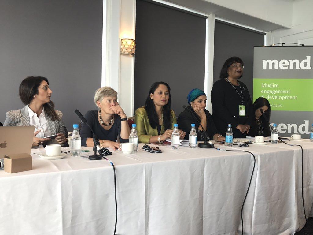 MEND fighting to empower Muslim women alongside Shadow Home Secretary