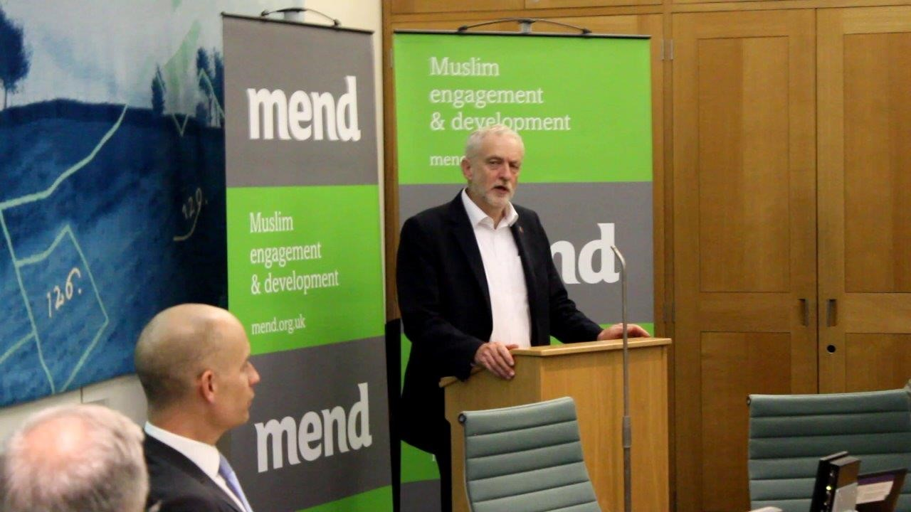 Jeremy Corbyn launches Islamophobia Awareness Month 2017 in Parliament with MEND