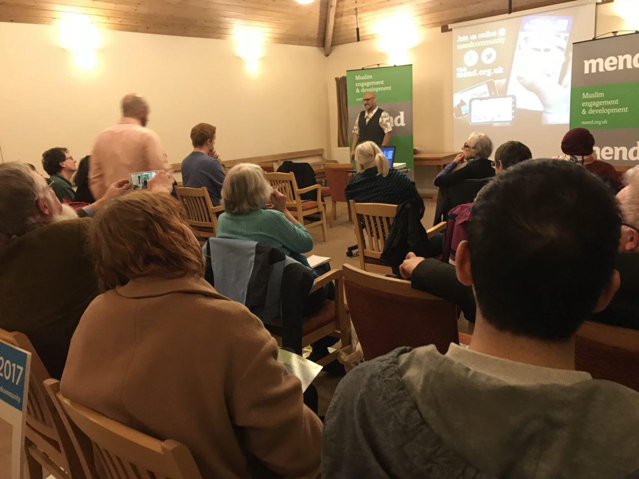 IAM2017 'Causes and Cures' with Concord at the Leeds Quaker House