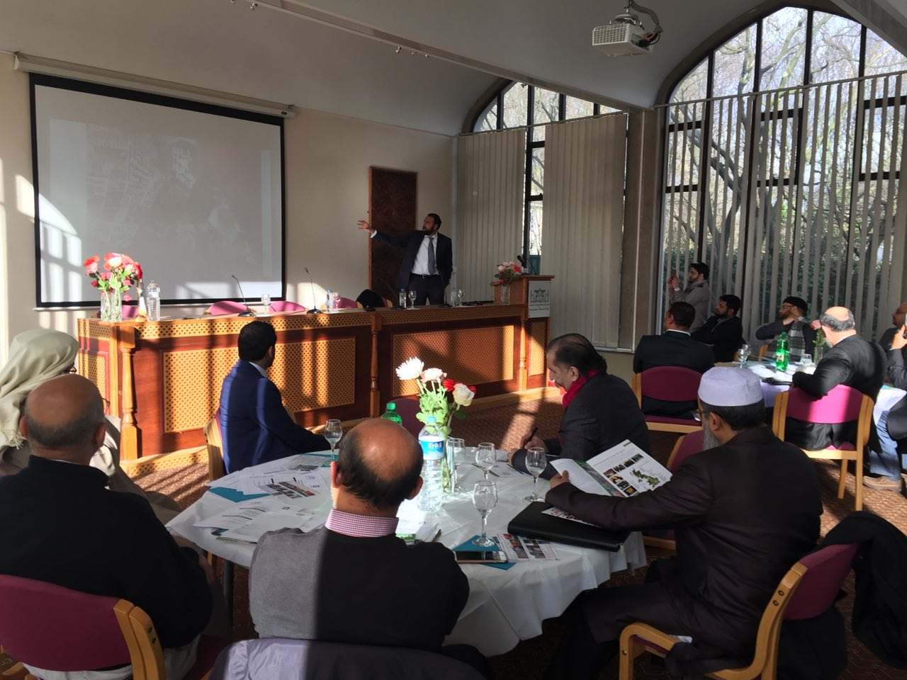 Islamophobia Causes & Cures Presentation at Regents Park Mosque