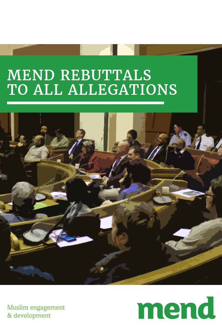 MEND rebuttals to all allegations 16.03.18