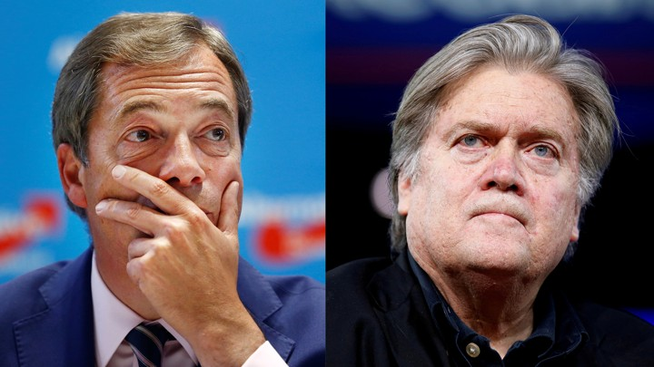 UKIP and Bannon forge alliance for alt-right movement in Europe
