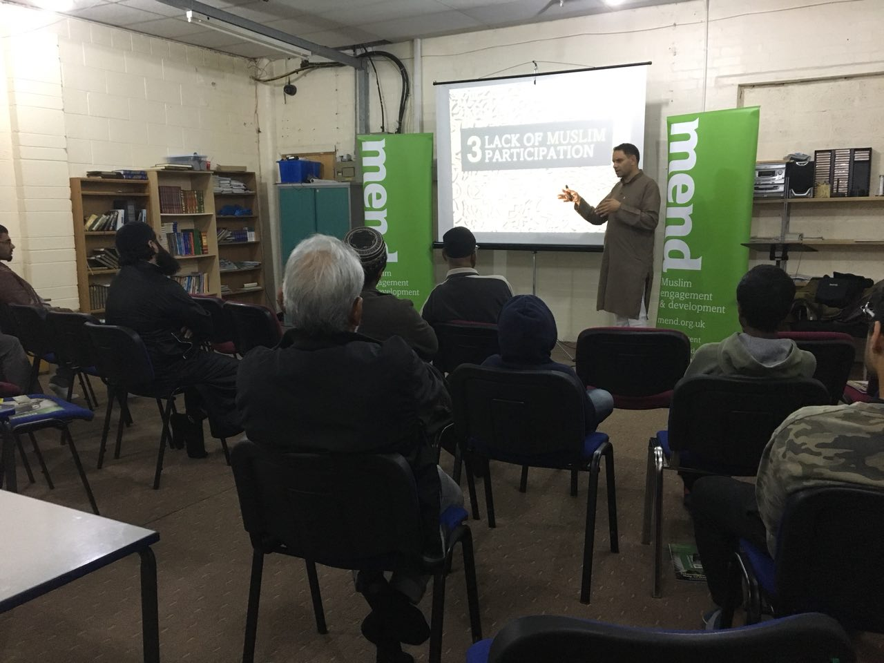 Islamophobia: Causes and Cures, Leicester