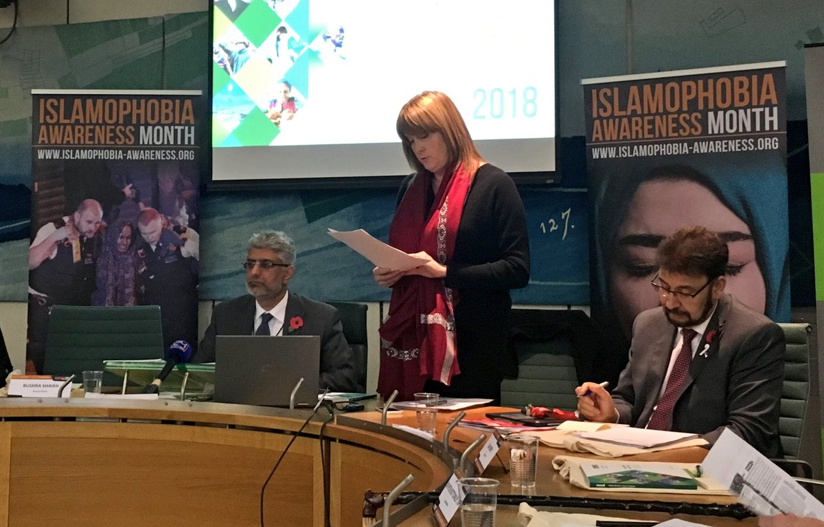 Statement on Islamophobia Awareness Month Parliamentary Launch