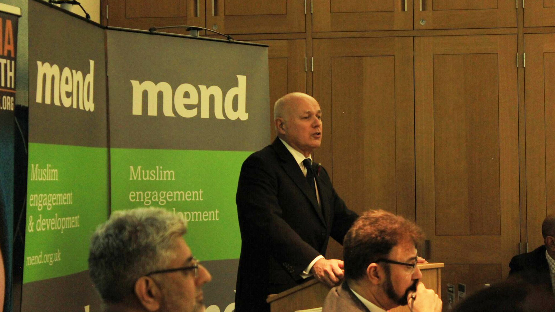 MEND responds to criticism from Iain Duncan Smith