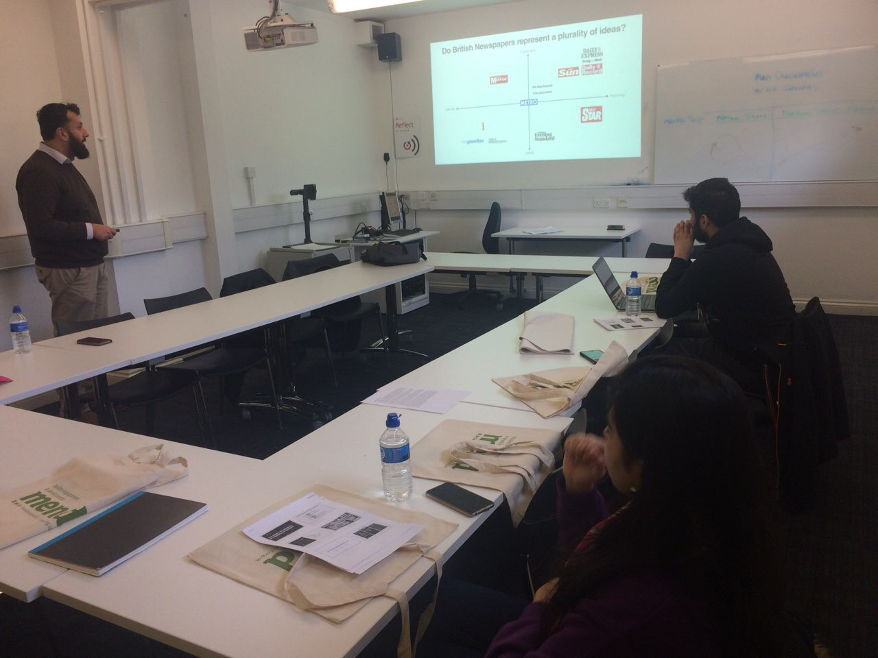 Media Masterclass at the University of Leicester