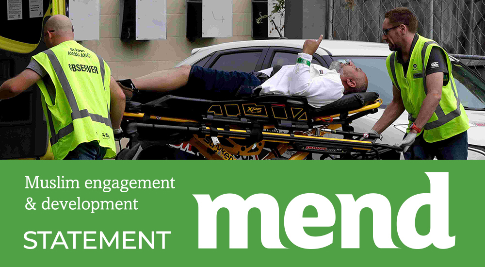 MEND Statement on attacks at Mosques in New Zealand