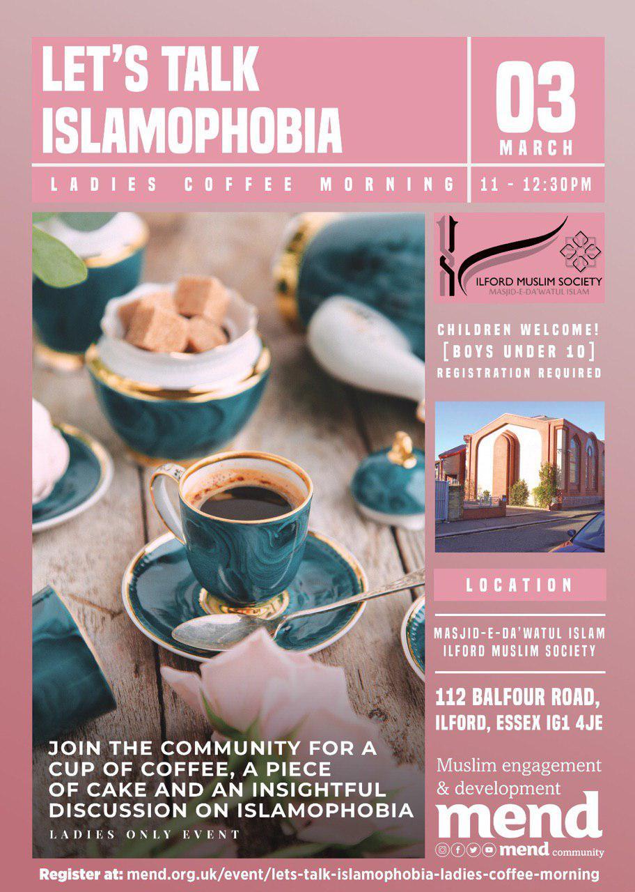 Balfour Mosque Sisters Tea Party