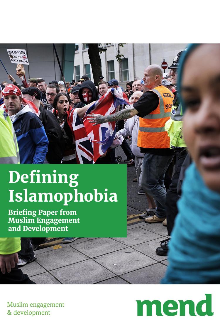 MEND Briefing Paper – Islamophobia debate