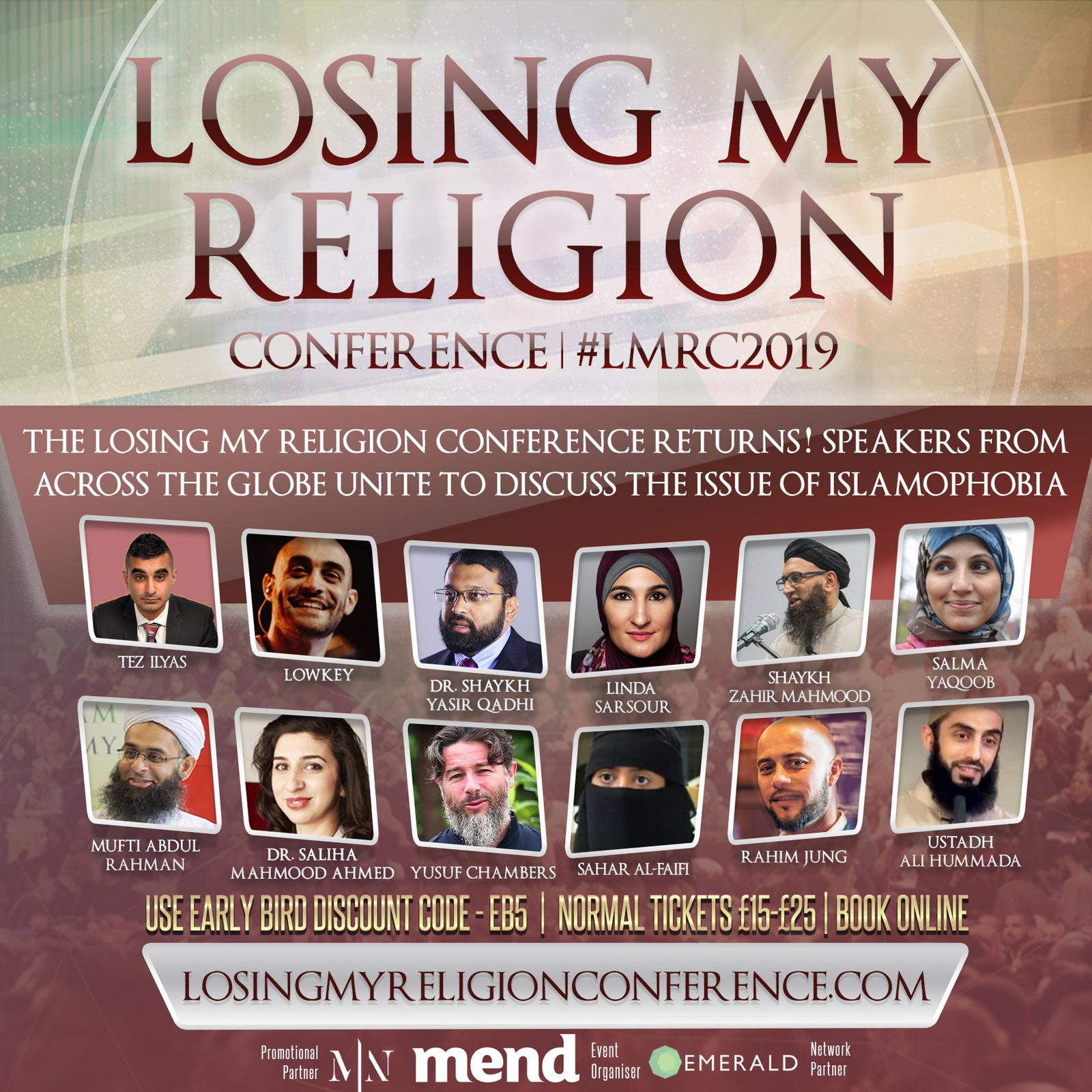 MEND's Losing My Religion Conference