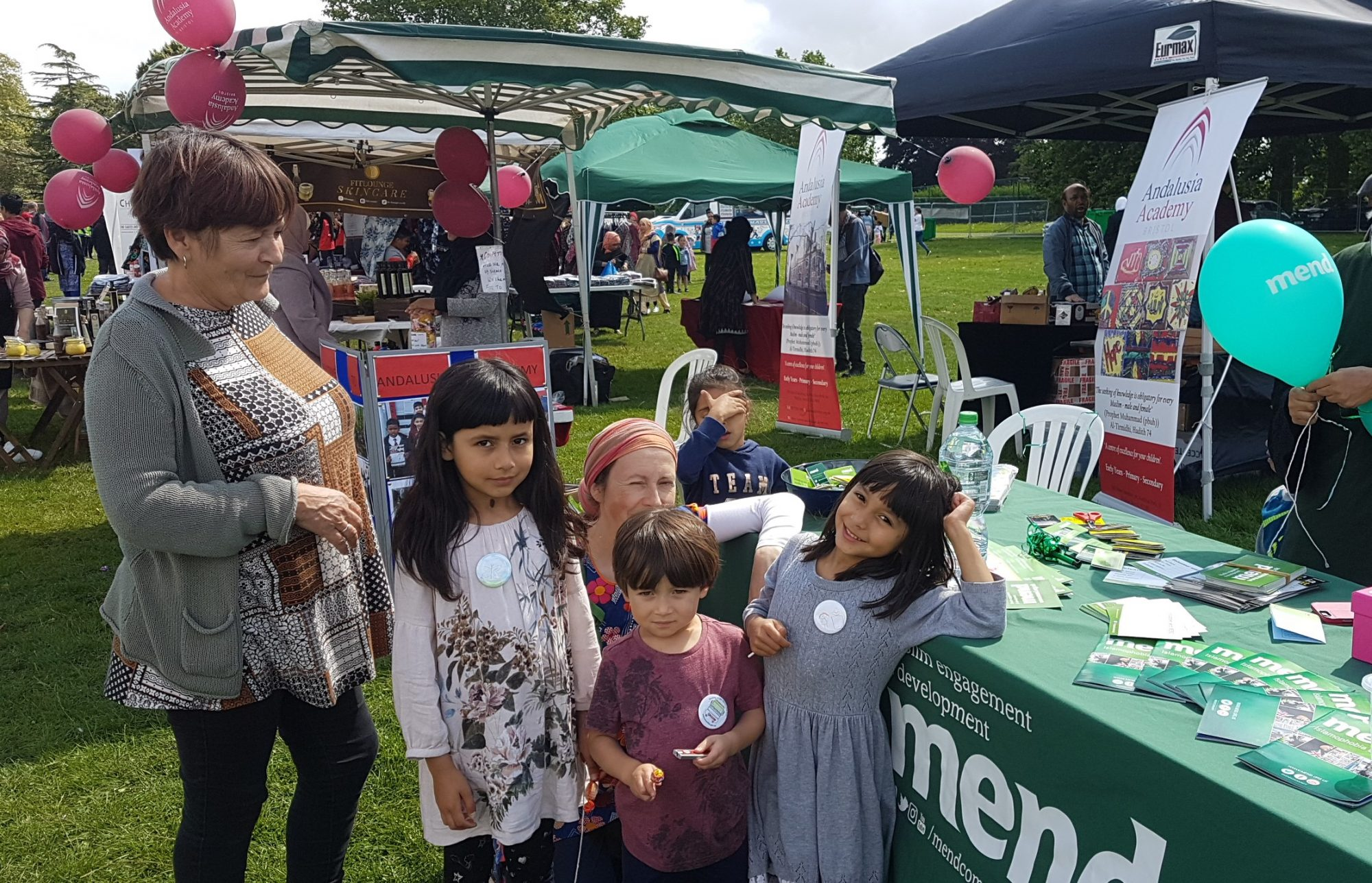 MEND at the Islamic Cultural Fayre, Bristol August 18, 2019