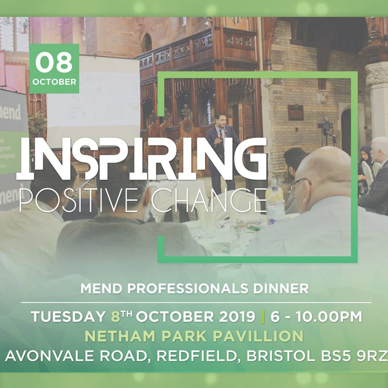 Professionals Dinner: Inspiring Positive Change