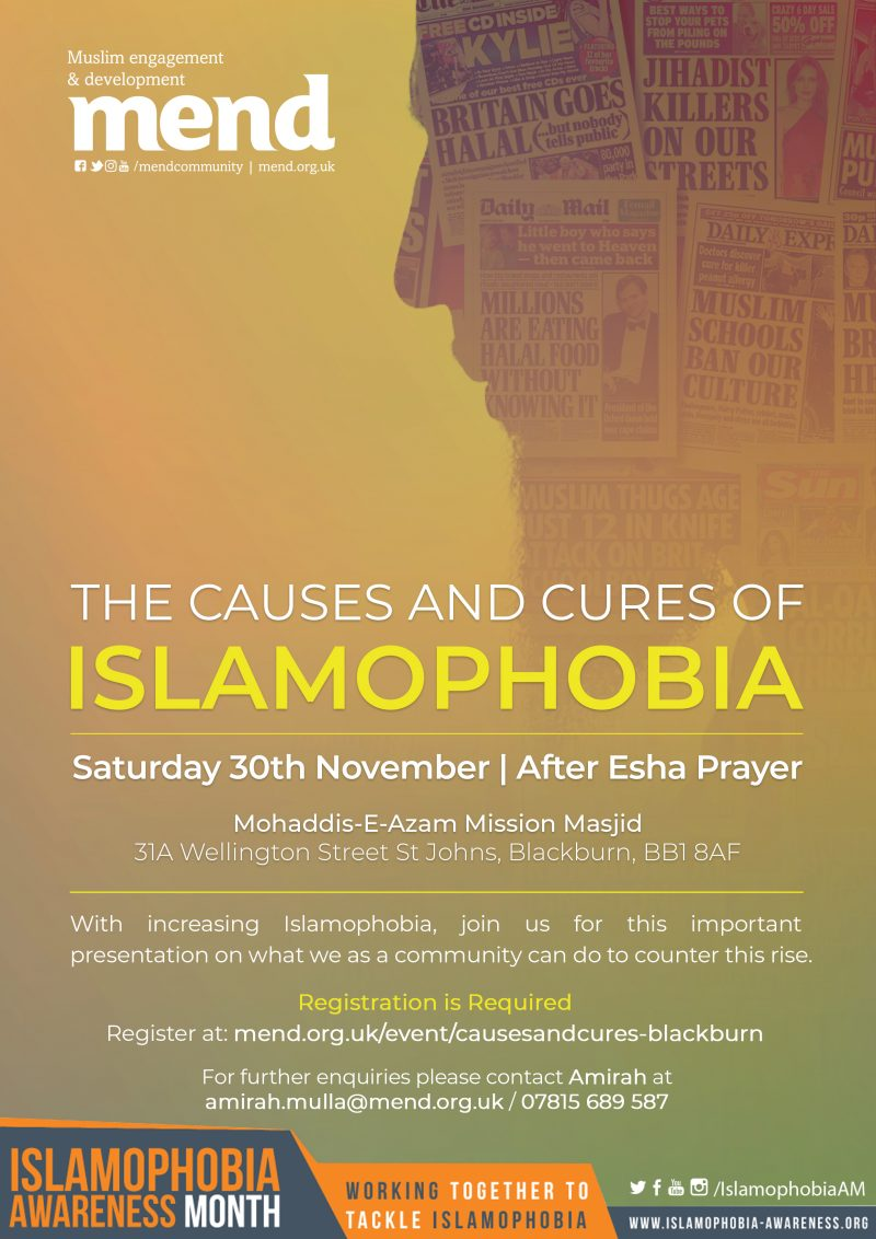 Causes and Cures of Islamophobia