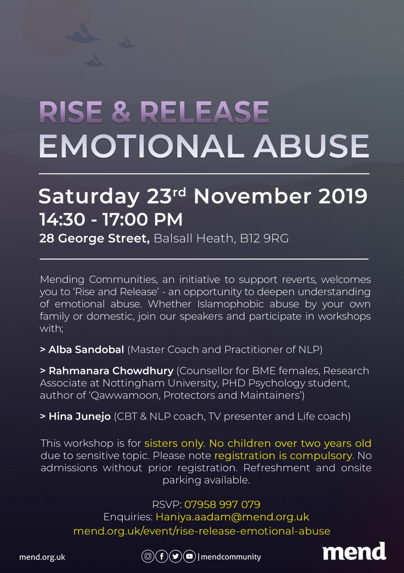 Rise & Release: Emotional Abuse