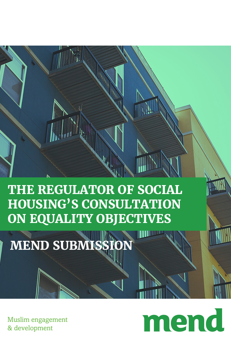 MEND submission to the Regulator on Social Housing