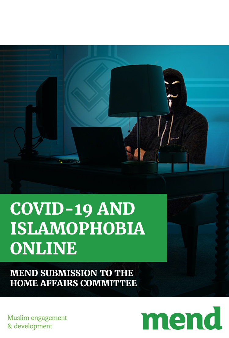 COVID-19 and Islamophobia Online