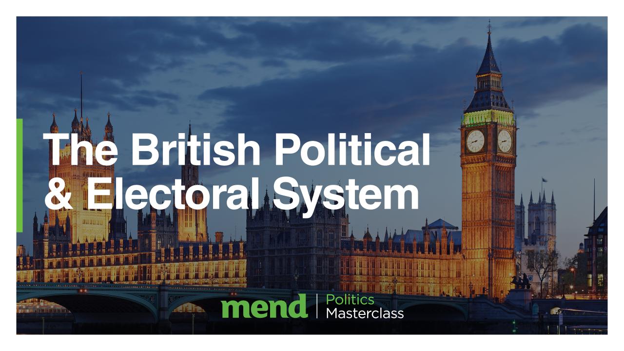 Volunteer Education and Training: Politics Masterclass