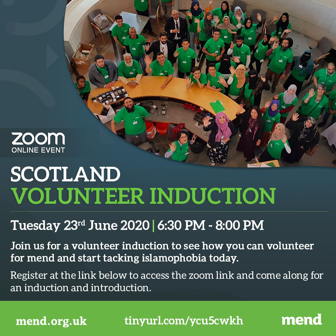 Scottish Volunteer induction