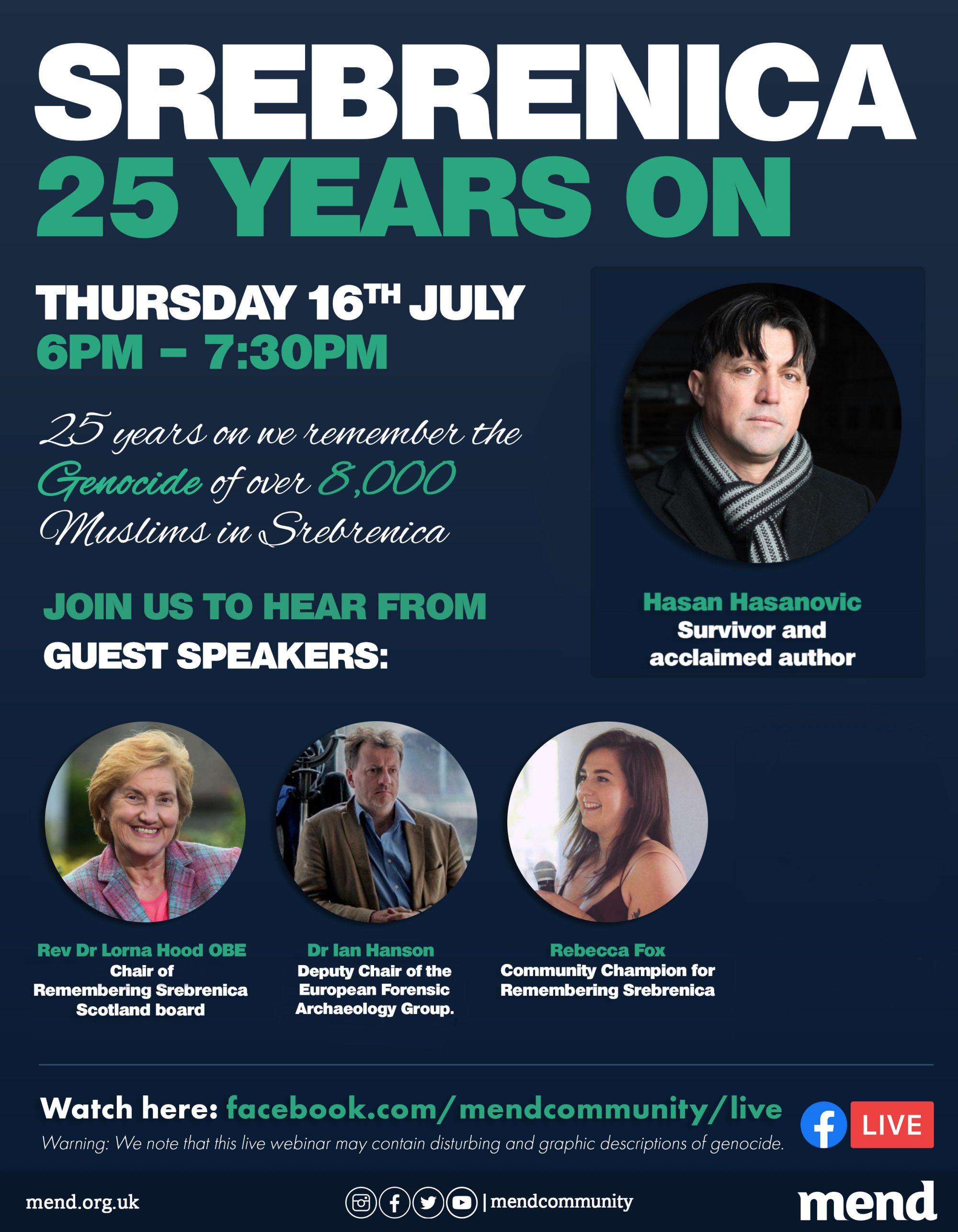 MENDreport: Srebrenica 25 years on