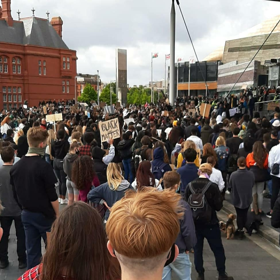 On 6th of June 2020, Cardiff witnessed its biggest protest