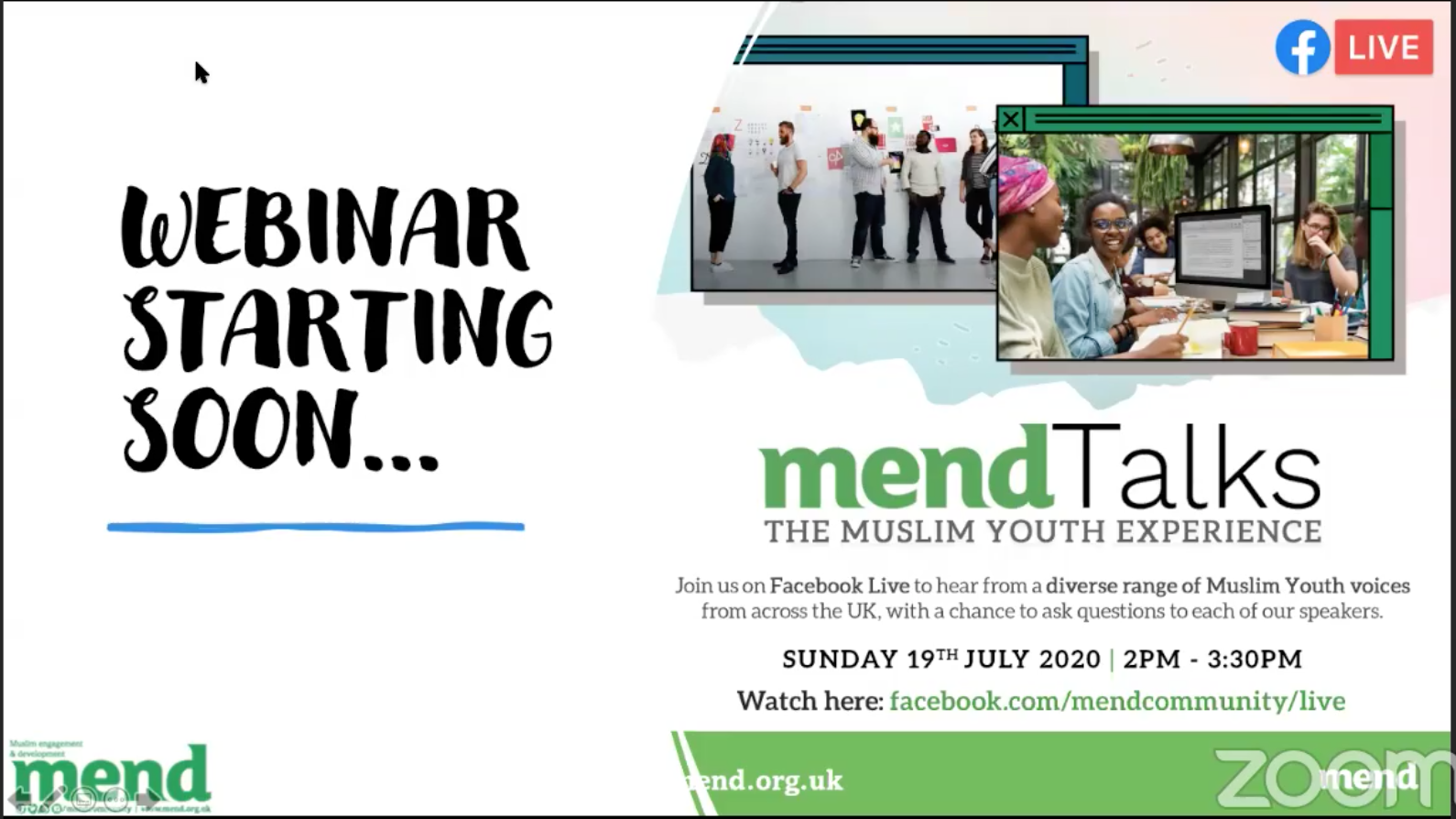 MENDtalks: The Muslim Youth Experience