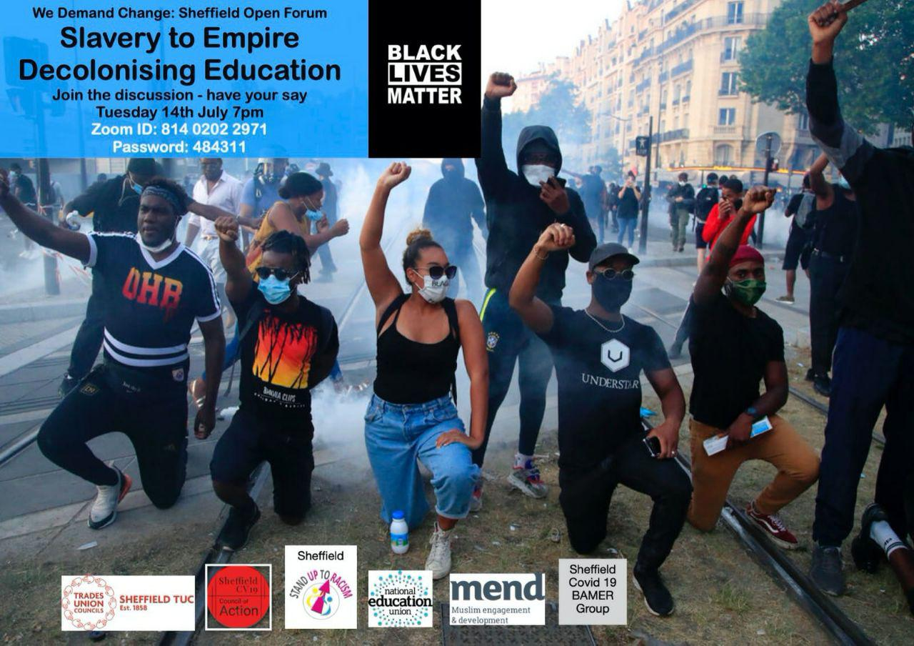 MEND Sheffield Collaborates with Stand Up to Racism Sheffield