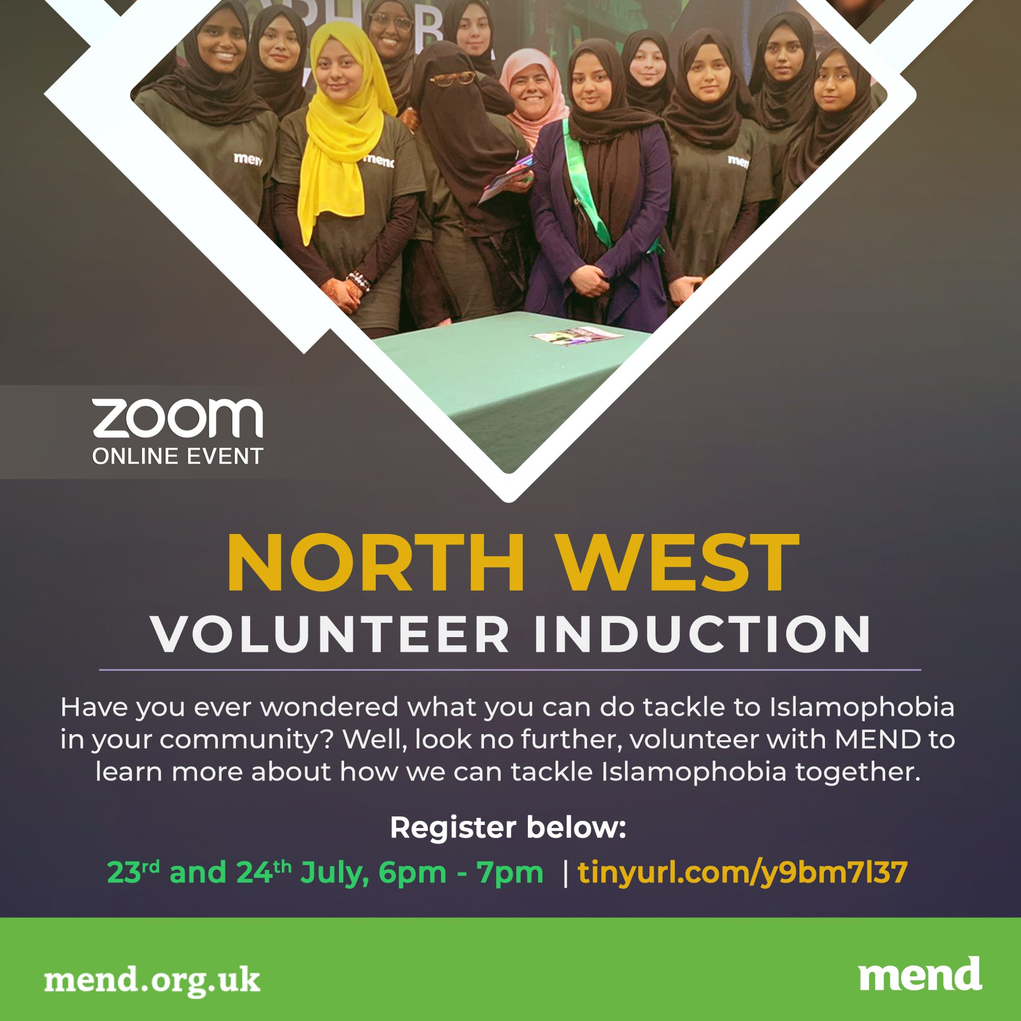 MEND North West Inductions