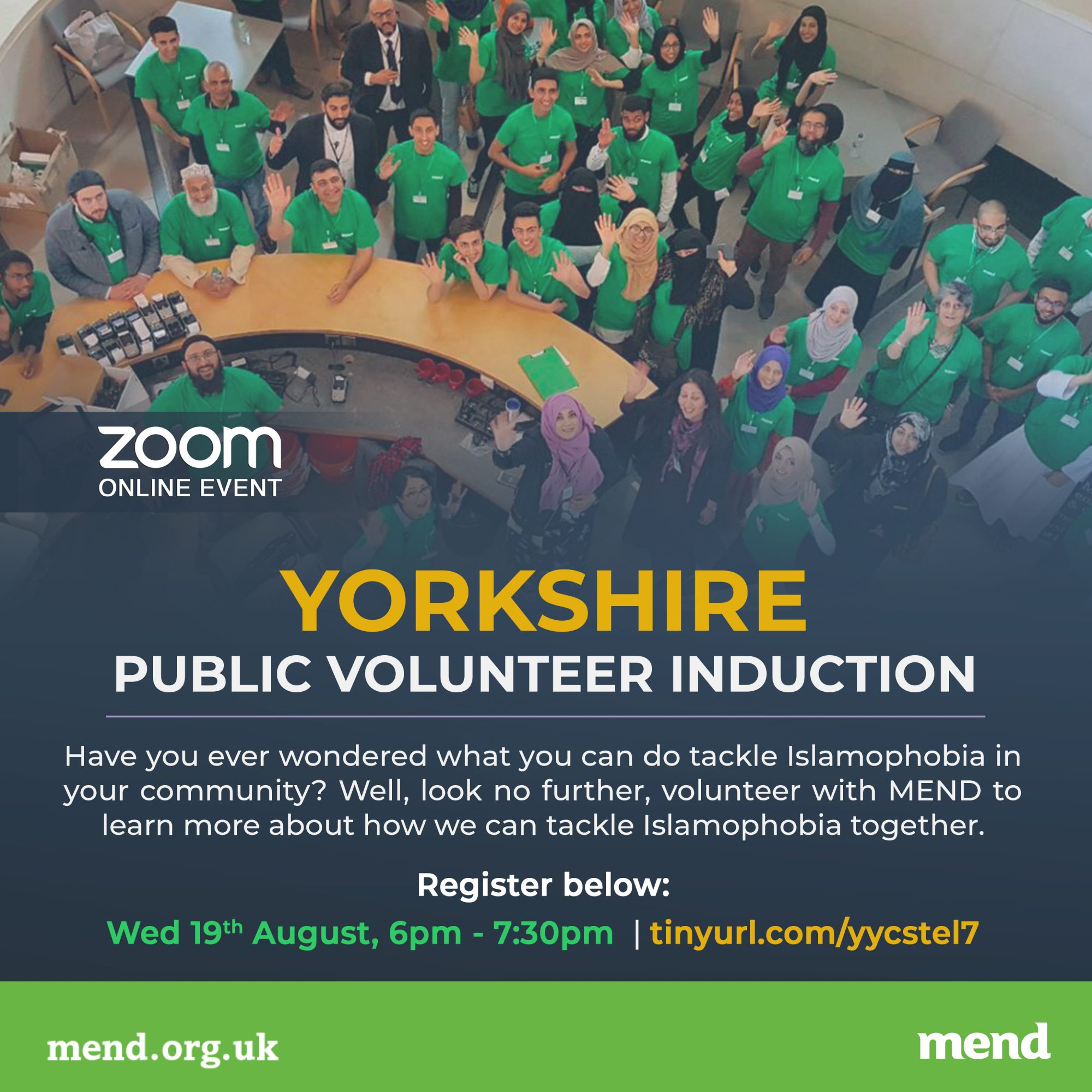 MEND Yorkshire Volunteer Induction