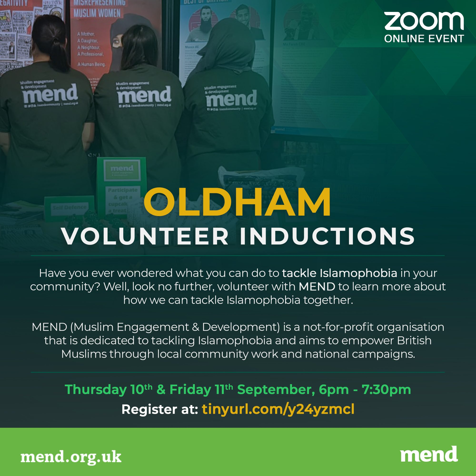 MEND Oldham Induction