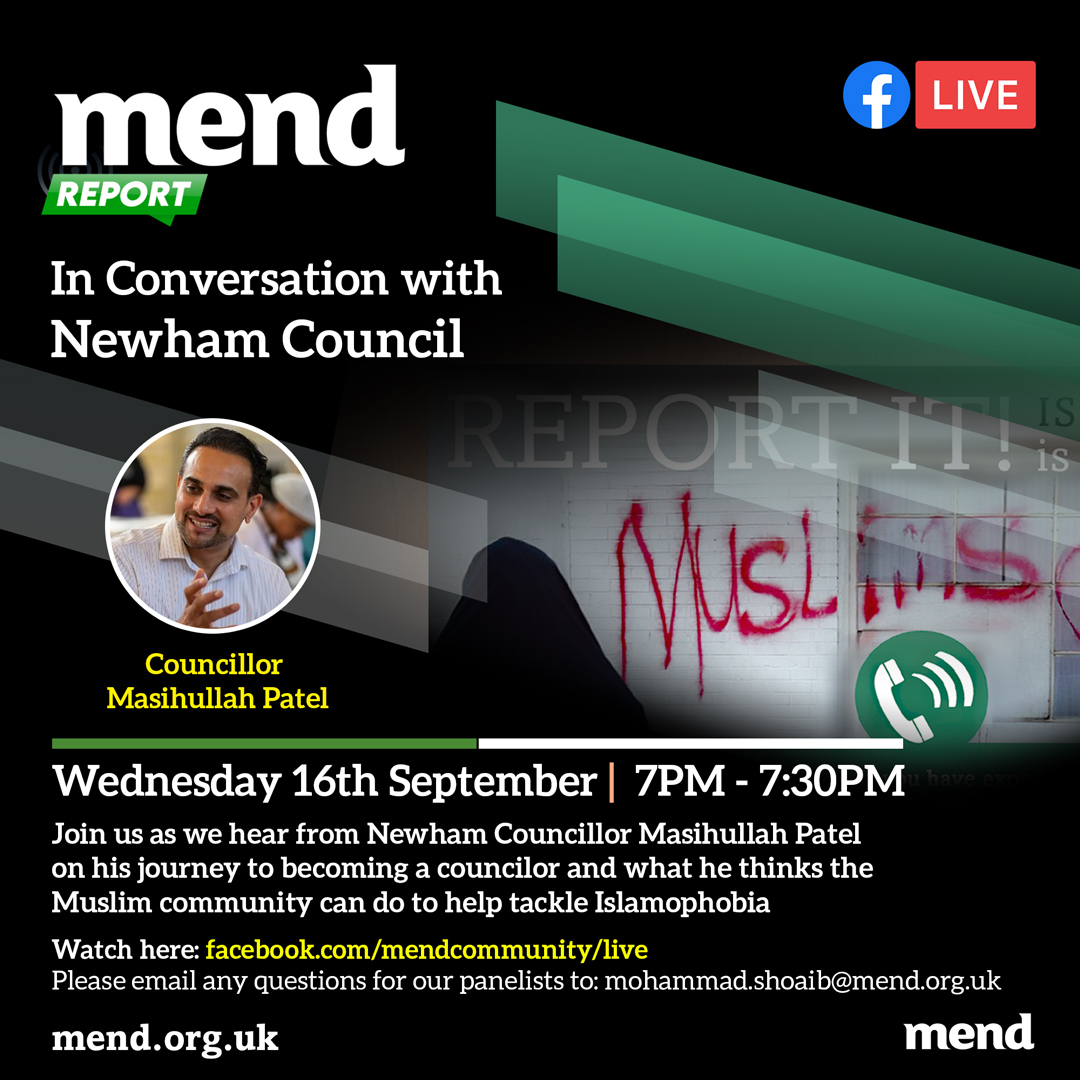 MEND Reports London In Conversation With Newham Council