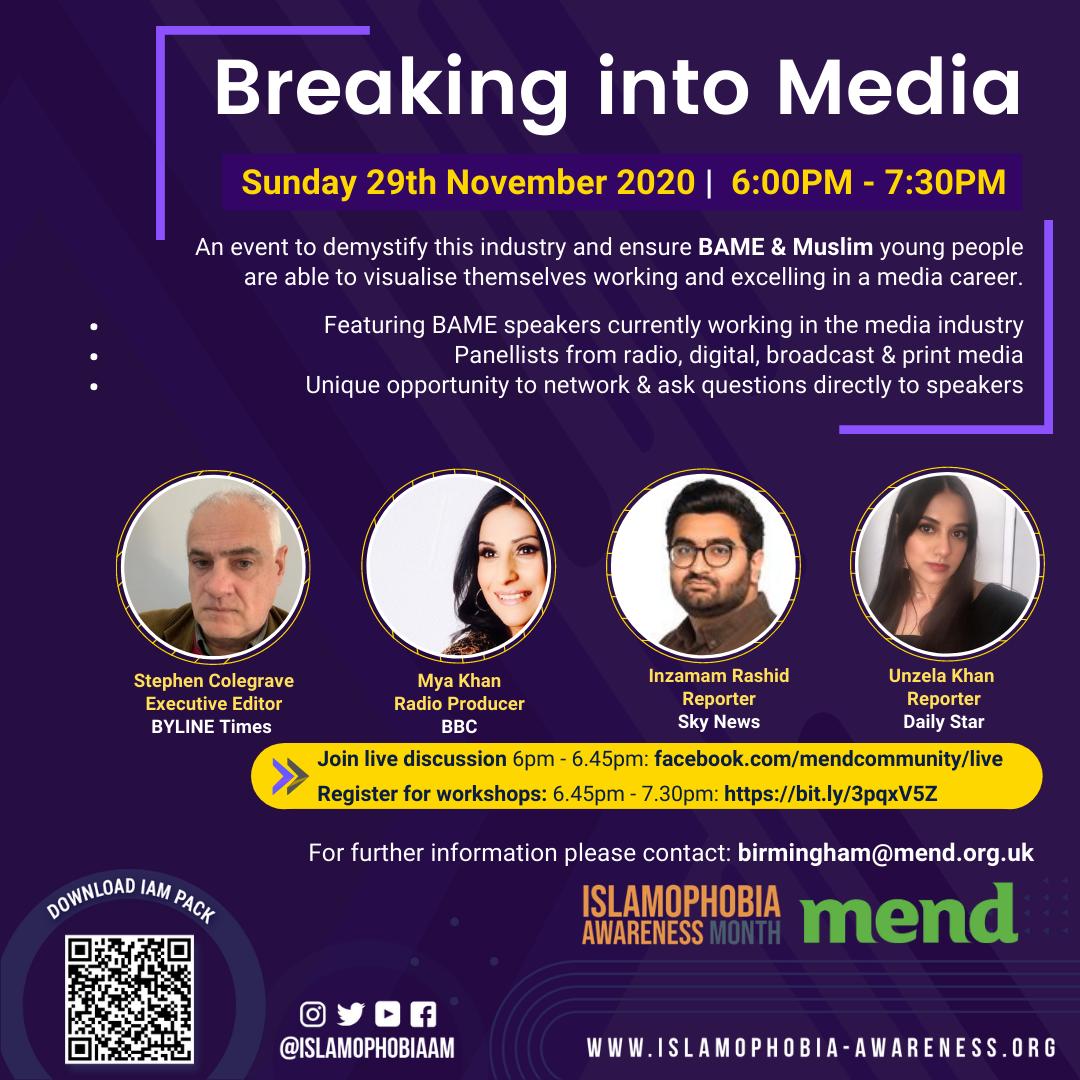 IAM2020: Breaking into Media