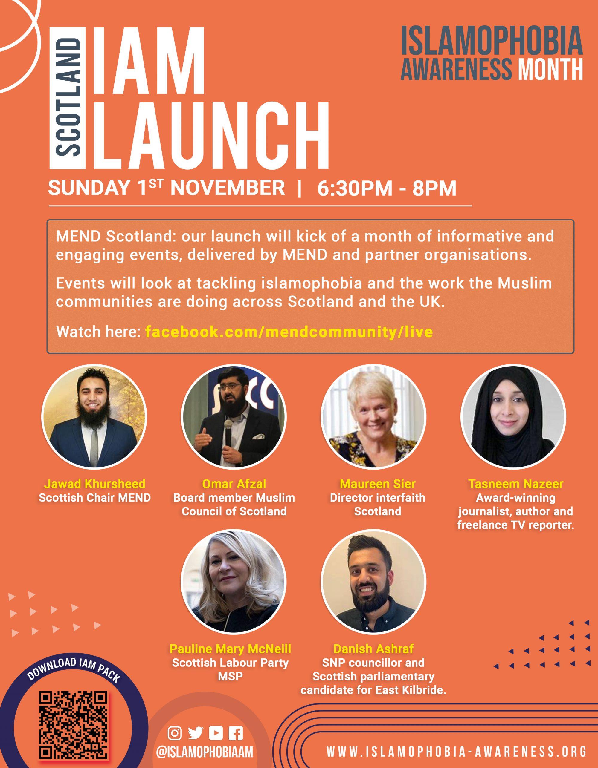 #IAM2020 Launch Scotland