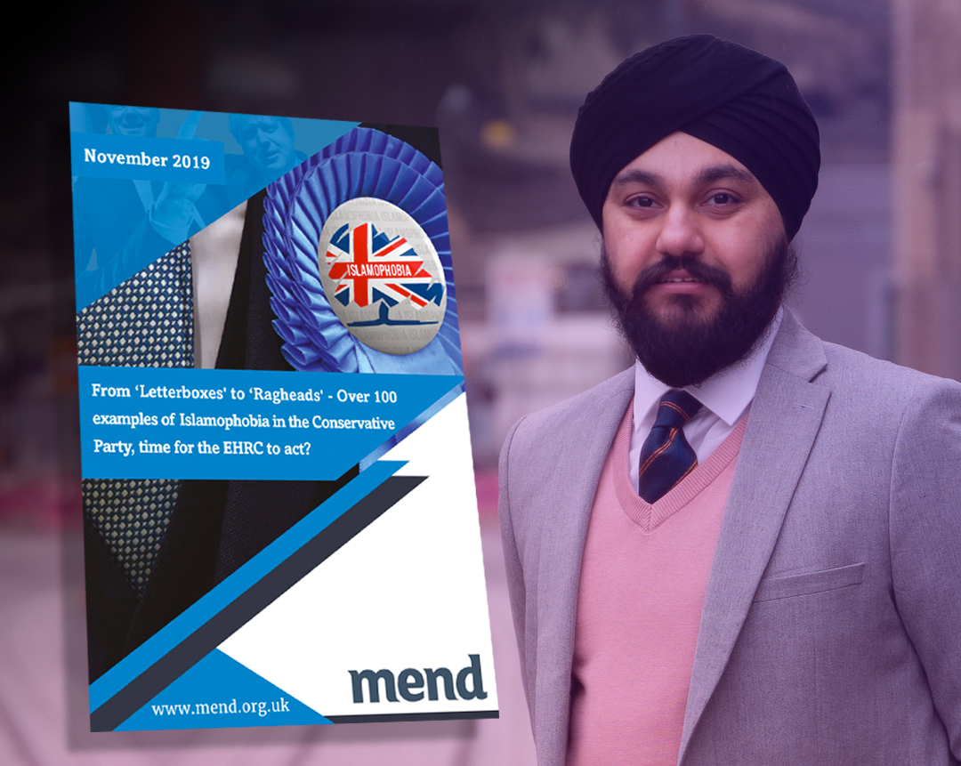 Why is Jay Singh-Sohal, the Conservative Party candidate for West Midlands Police and Crime Commissioner, attacking Muslim organisations like MEND?