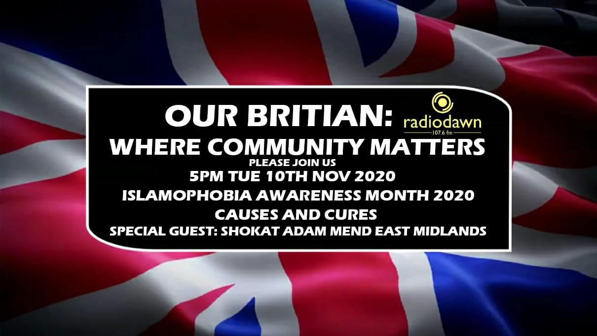 Radio Dawn Interview with MEND Leicester: 'Our Britain- Where Community Matters'
