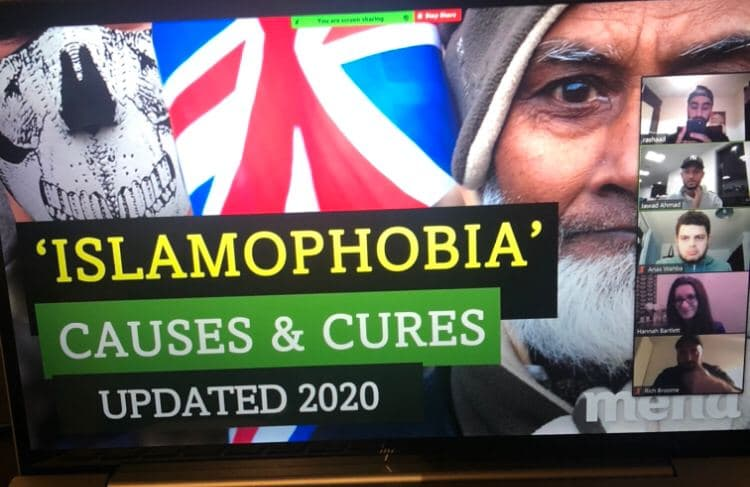 IAM2020: Causes and Cures of Islamophobia Presentation at Aston University