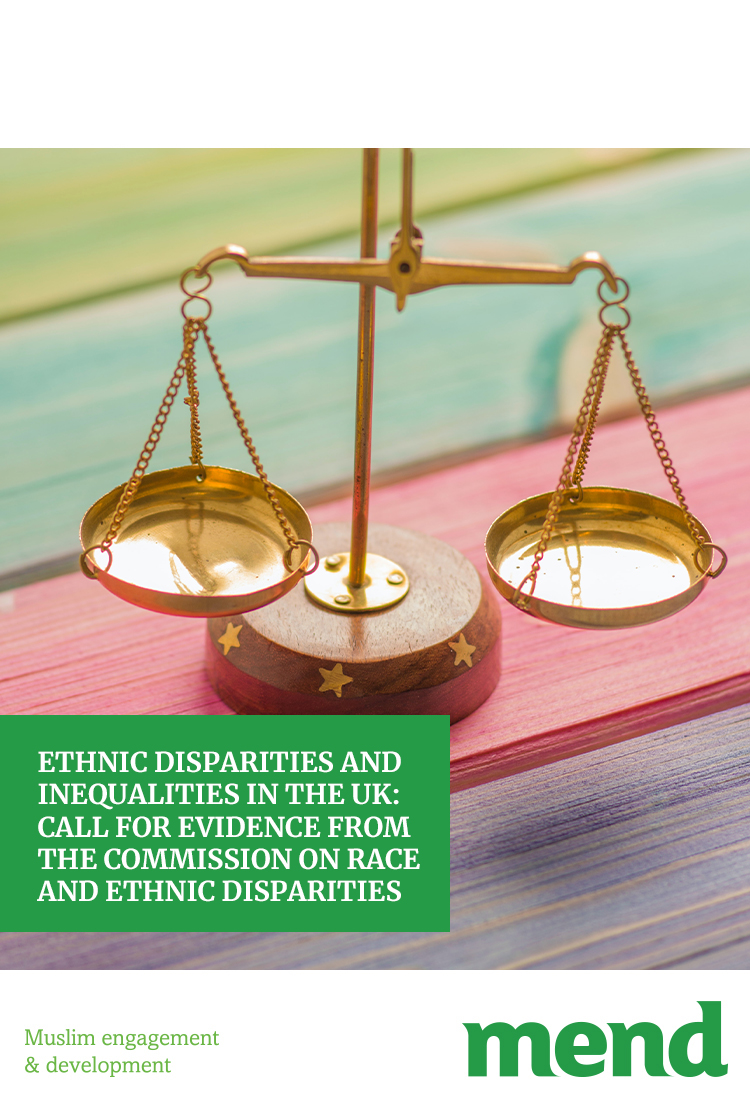 MEND – Ethnic disparities and inequalities in the UK